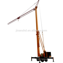 Mobile tower crane Folding tower crane QTZ25